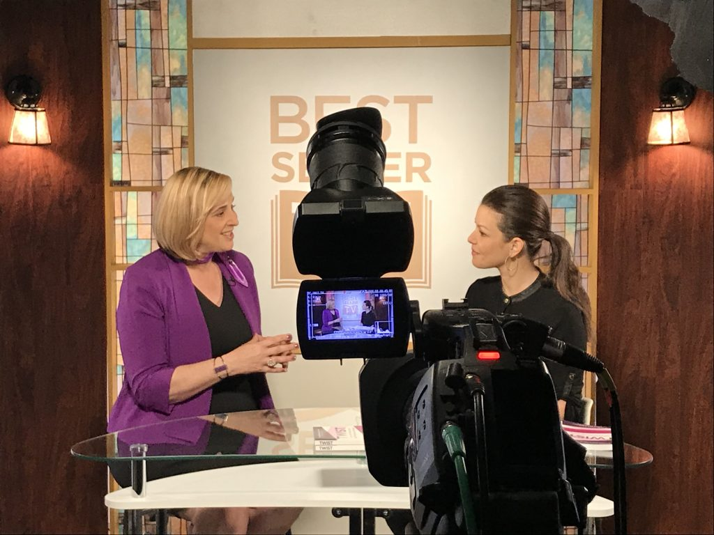 Julie Cottineau on C-Suite Best Seller TV.